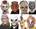 Halloween Masks, themed, Devil, Clown, Pig, Decay, Skull, Wolf, Witch Full Half