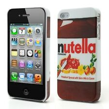 Superbe Coque Iphone 4 et  4S  Nutella Housse Bumper Case I phone nutela Choco