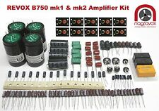Revox B750 amplifier FULL service overhaul restoration repair kit