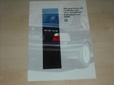58313) BMW 318 tds E36 Prospekt 02/1994