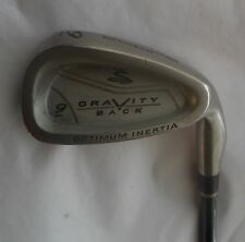 COBRA GRAVITY BACK Optimum Inertia 9 IRON Cobra MSS Graphite Shaft, Cobra Grip
