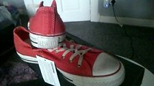 CONVERSE ALL STAR MENS WOMENS RED CT TRAINERS BNIB UK 9 EU 42.5
