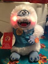 Rudolph The Red Nosed Reindeer Bumble 50 Years Light Up Musical Plush New