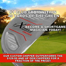 NEW PGC CHIPPER HYBRID IRON WOOD CHIPPING PUTTER UTILITY PUTTING WEDGE GOLF CLUB