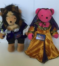 NABCO VIB Bears Beauty & The Beast Set From 1992 Disney World Convention