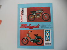 advertising Pubblicità 1971 MOTO MALAGUTI CAVALCONE CROSS 50/TOTEM