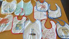 Baby Unisex LätzchenBABY 1 ONE & BABY WALZ und andere MARKEN 10  STÜCK