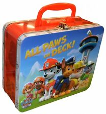 Paw Patrol 'Top Trumps' Collectors Tin Card Game Brand New Gift