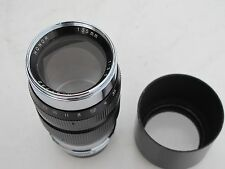 "RARE Leica LTM Honor 135mm f:3.5 lens with cap/hood, ONLY ONE on eBay ""LQQK"""