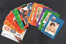 ONE DIRECTION Panini Complete STICKER CARD SET (15) Zayn Harry Louis Liam Niall