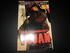 AMERICA'S ARMY #0 NEW YORK COMIC CON RARE GIVEAWAY SIGNED BY M.ZACHARY SHERMAN!!