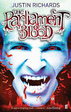NEW   PARLIAMENT OF BLOOD  ( SIGNED book ) Justin Richards