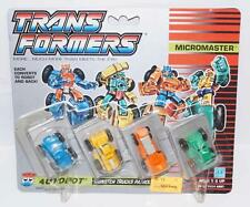 Monster Truck Patrol Micromaster MOC Vintage 1990 G1 Transformers Action Figure