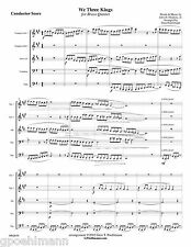 6 more BRASS QUINTET Christmas arrangements with free U.S. PRIORITY shipping!