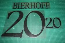 Germany 96/98 #20 BIERHOFF Homekit Nameset Printing