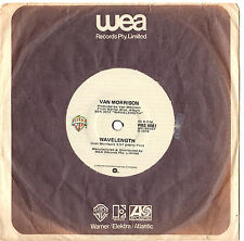 "VAN MORRISON - WAVELENGTH / CHECKIN' IT OUT - 7"" 45 VINYL RECORD 1978"