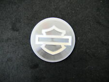 HARLEY DAVIDSON Bar & Shield logo Mini Peel & Stick medallion  Quarter size
