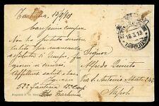 ITALIA COLS Libia Militari 1913 CPP unstamped soldati Mail