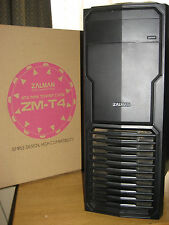 ZALMAN ZM-T4 ATX MINI TOWER CASE & LG DVD-RW & ENERMAX EG365P-VE POWER SUPPLY