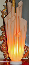 STUNNING GEORGIA JACOB 1970's FRENCH ART MODERNE ATHENA LAMP