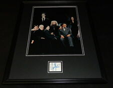 Raul Julia Signed Framed 16x20 Photo Display JSA The Addams Family
