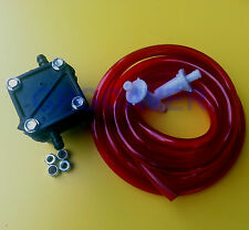 Go Cart Kart Racing Walbro Type Clone Engine Motor Fuel Gas Pump Hose Filter RED
