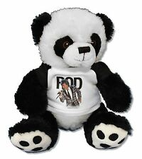 ROD STEWART PANDA BEAR FAN STUFFED ANIMAL NEW OFFICIAL BAND MUSIC