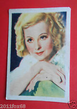 actors acteurs figurine cards nestle stars of the silver screen 24 lilian harvey