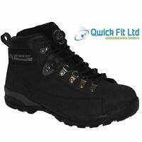 MENS GROUNDWORK LEATHER SAFETY STEEL TOE CAP BOOTS WORK TRAINERS HIKING SHOES BN