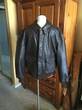 Brand New! Cooper A-2 Flight US Air Force Bomber Leather Goatskin Jacket 42R Lrg