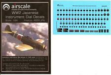 Airscale Decals 1/24 JAPANESE World War II LUFTWAFFE INSTRUMENT DIALS