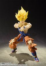 Dragon Ball Z S H Figuarts Super Saiyan Son Goku Warrior Awakening Action Figure