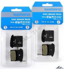 2 Packs Shimano F01A Resin MTB Disc Brake Pads XTR/XT/SLX/ALFINE / BR-M985/M785