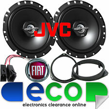 FIAT Grande Punto EVO JVC 17cm 6.5 Inch 600 Watts 2 Way Front Door Car Speakers