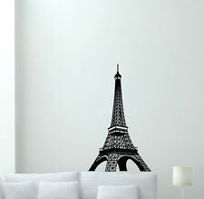 Eiffel Tower Wall Decal Paris Vinyl Sticker French Poster Bedroom Decor 68hor