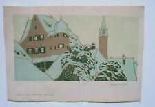 Lithographie originale par Franz WALDRAF - Publié à l'Art Décoratif - 1904