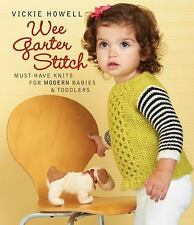 Wee Garter Stitch: Must-Have Knits for Modern Babies & Toddlers-ExLibrary