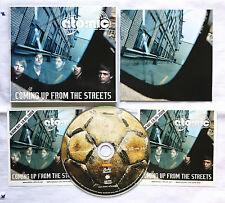 CD: atomic - COMING UP OF THE STREETS, + 2 Band - Aufkleber 2008, neuwertig