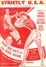 "TAKE ME OUT TO THE BALL GAME  ""Strictly U.S.A."" Gene Kelly Frank Sinatra"