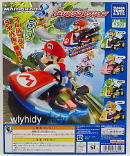 Super Mario Kart Mini Pull Back Car Complete 5pcs - Takara Tomy  h#5