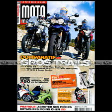 MOTO MAGAZINE N°287 KAWASAKI NINJA 250 R HARLEY 1700 SOFTAIL SLIM BMW R 1200 GS