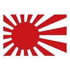 Autocollant Drapeau Japon sticker japan logo2 4 cm