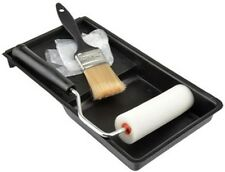 SMALL ROLLER BRUSH TRAY GLOVES PAINT SET 5 PIECE
