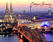Germany - COLOGNE - Travel Souvenir Fridge MAGNET