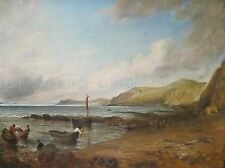 PAINTINGS LANDSCAPE ICONIC WEYMOUTH BAY CONSTABLE ART POSTER PRINT LV3208