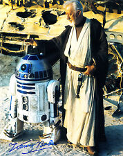 Kenny Baker Signed R2-D2 Star Wars Autograph 10x8 Photo With Exact Proof