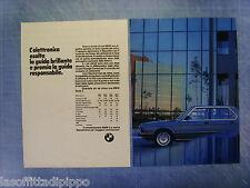 QUATTROR983-PUBBLICITA'/ADVERTISING-1983- BMW L'ELETTRONICA -2 fogli