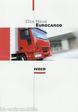 Prospekt Iveco Eurocargo 3 03 Autoprospekt 2003 LKWs Auto truck brochure lastbil