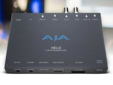 AJA HELO H.264 recording and streaming stand-alone appliance