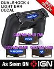 *NEW* Custom DualShock 4 Light Bar Decal PS4 Lightbar FREE US SHIP - Seen on IGN
